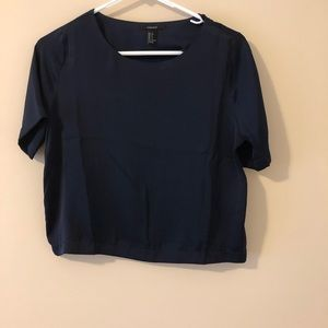 ‼️2 for $20‼️ Forever 21 Short Sleeve Boxy Blouse